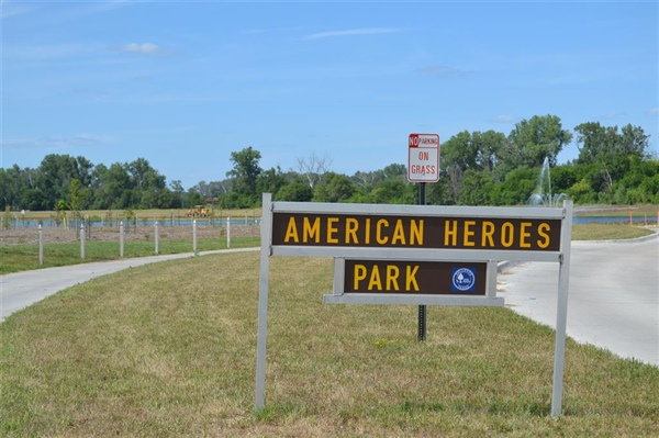 Public Works Department Reports Next Phase of Improvements to American Heroes Park Begins this week.