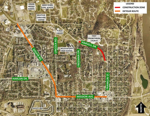 Harvell Drive Improvement Project Entering Final Phase