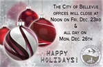 Happy Holidays from the City of Bellevue!