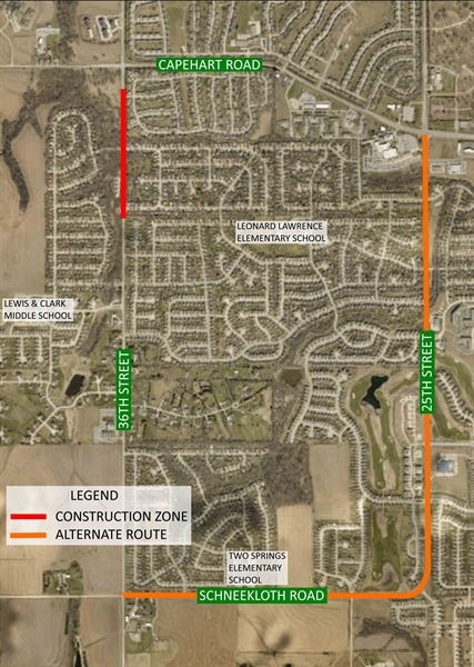 36th Street Resurfacing Project to Begin on Thursday, May 11th