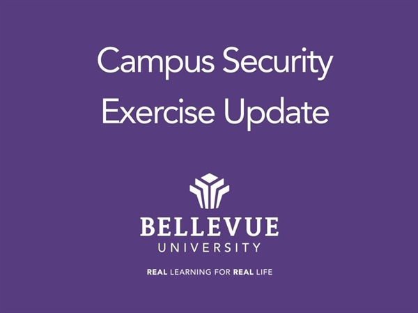 Multi-Agency Active Shooter Training Exercise Planned for Friday, May 18, 2018 at Bellevue University
