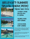 Bellevue to Host Summer Splash Sneak Peak to Preview Renovated Pools and New Splash Pad