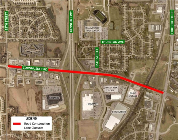 2018 Street Resurfacing Project Moves toward Cornhusker Road and Cedar Island Road