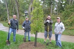 Bellevue is Latest Stop in Travelers Goal of Planting a Tree in Every State