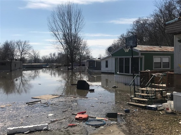 Some Bellevue residents displaced by the flood may be able to visit their homes starting Wednesday, March 20th