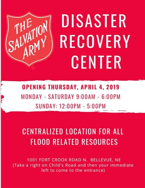 DISASTER RESOURCE CENTER (DRC) SET TO OPEN IN BELLEVUE