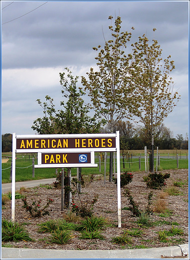 The South End of American Heroes Park is Open for Public Access