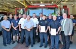 Mayor Rusty Hike Recognizes Two Bellevue Firefighters for their Rescue Efforts