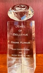 City of Bellevue Awards the Jewel of Bellevue Award in Honor of Frank Kumor