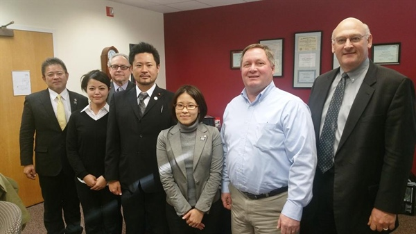 City of Bellevue hosts City Officials from Japan